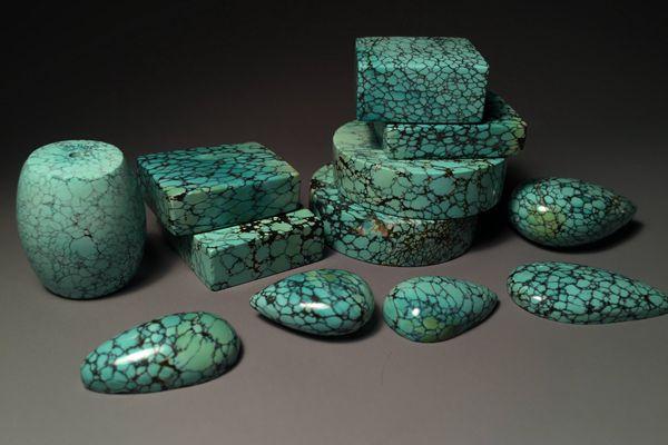 绿松石半成品