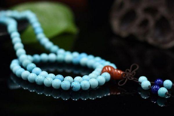 绿松石珠链